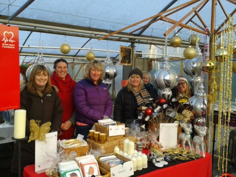 WCRA donates to the British Heart Foundation following Xmas Craft Fair